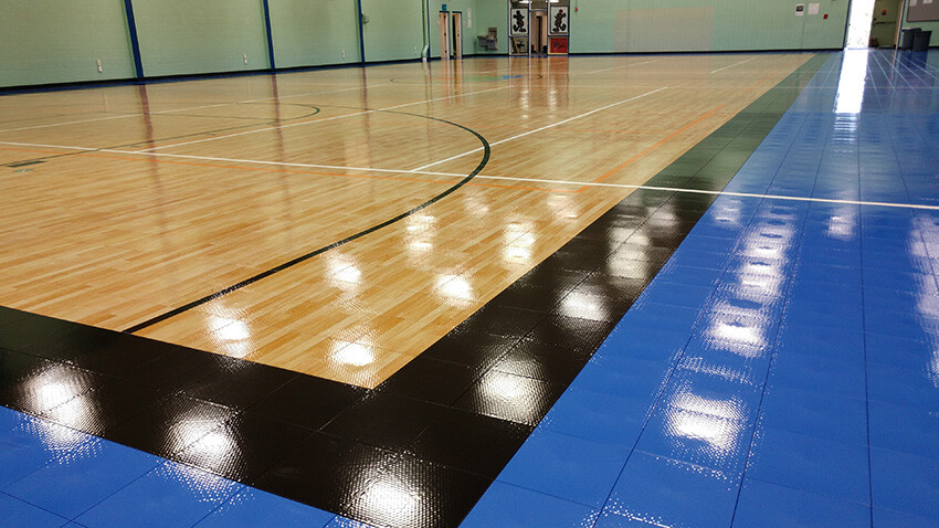 Ben Garza Gymnasium Basketball Court