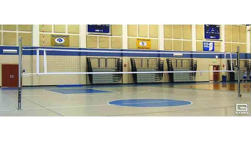 Libero 7200 Aluminum Volleyball System