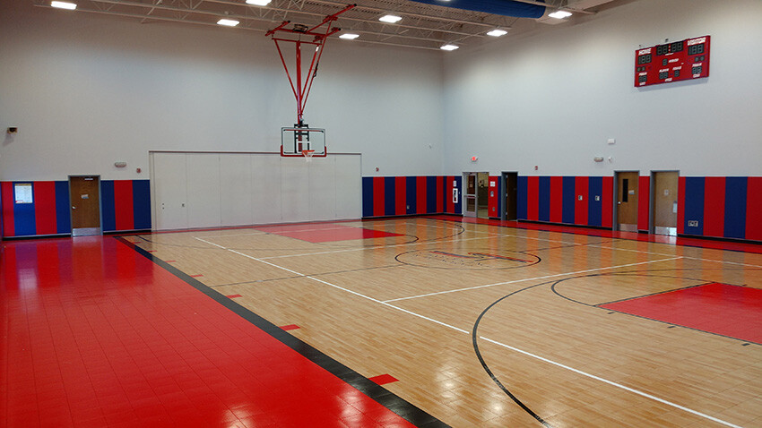 School of Science and Technology Alamo Basketball Court