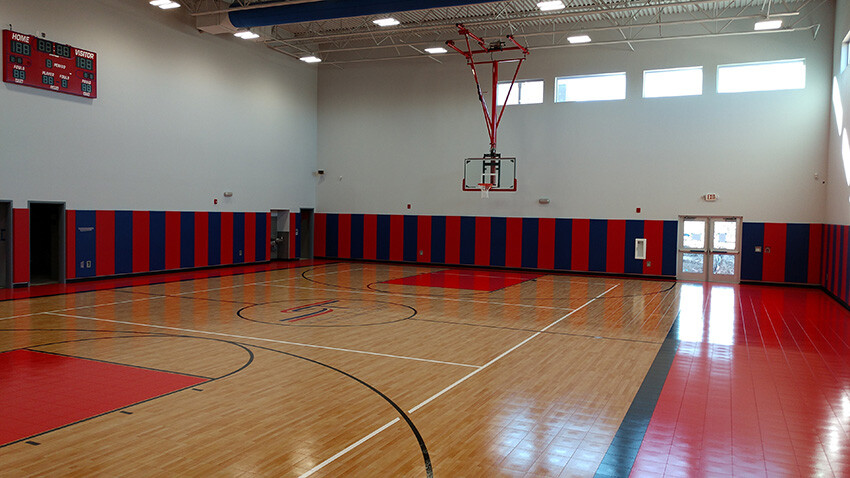 School of Science and Technology Alamo PE Gym