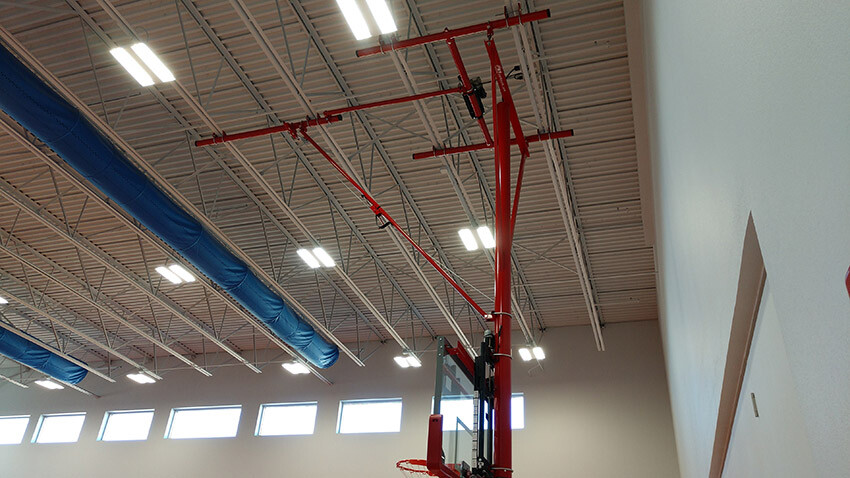 School of Science and Technology Alamo Gared Sports Basketball Goal