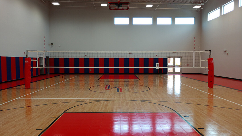 School of Science and Technology Alamo Volleyball Court