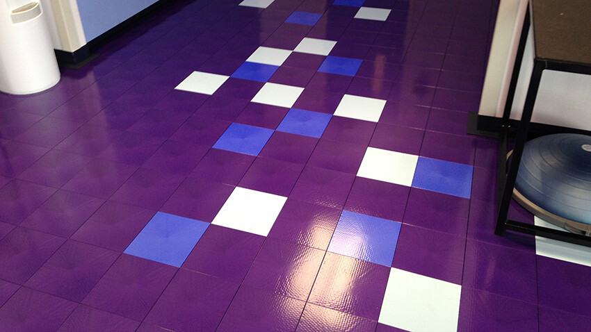 Physical Therapy Flooring Cook Children's Health Care