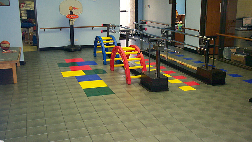 Physical Therapy Flooring Temple Memorial