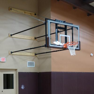 Gym Design with Adjustable Basketball Goals