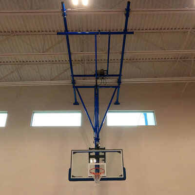 School of Science and Technology Hill Country Basketball Goal