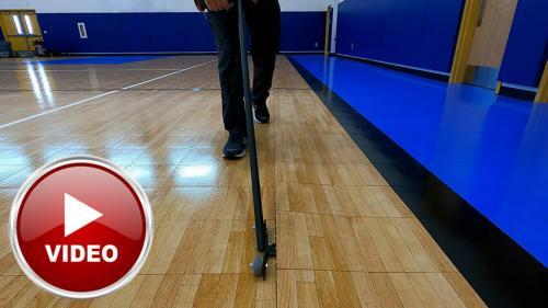 Sport Court Unzipper Tool