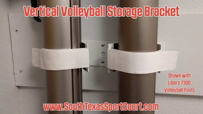 Vertical Volleyball Storage Bracket by Gared Sports