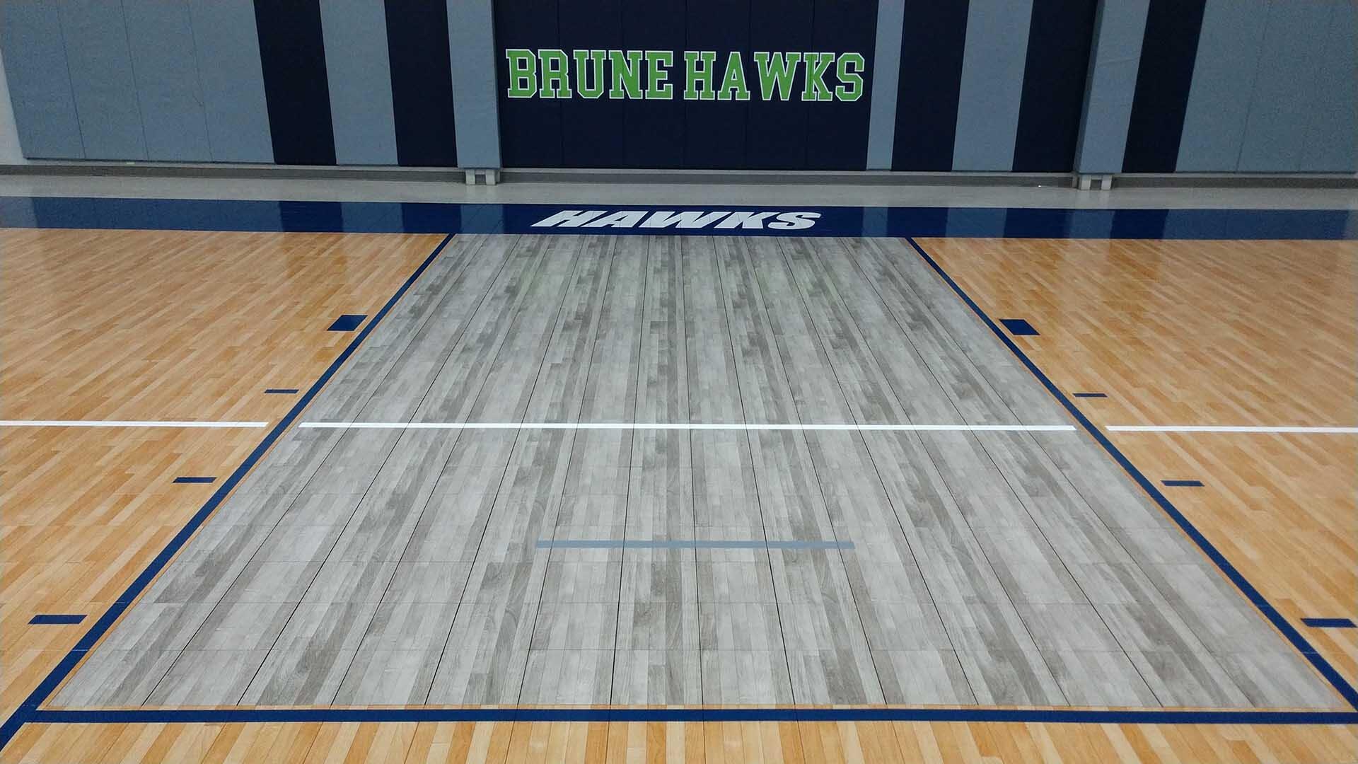 Sport Court Silver Maple Lane